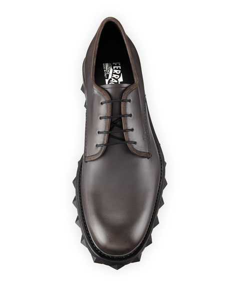 Men's Dassel 2 Lug-Sole Leather Oxfords
