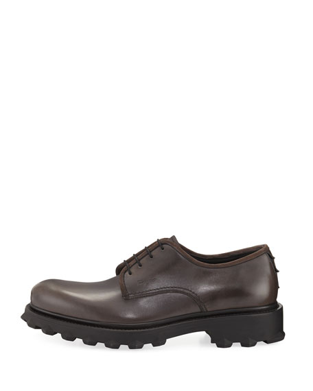 Men's Lug-Sole Leather Loafer