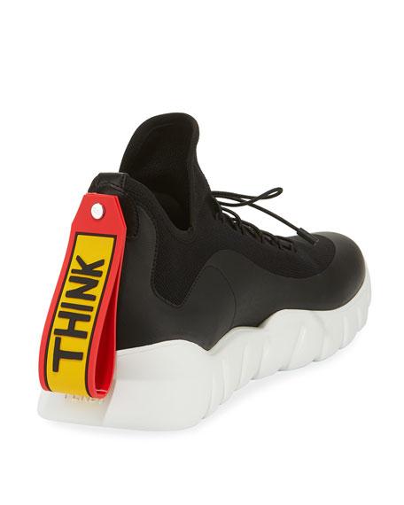 Runway High-Top Scuba Sneakers