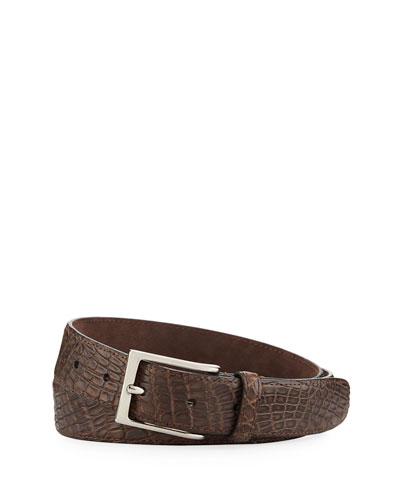 Crocodile Belt