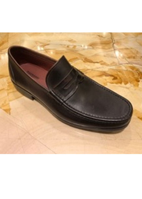 Image 1 of 1: Leather Penny Loafer