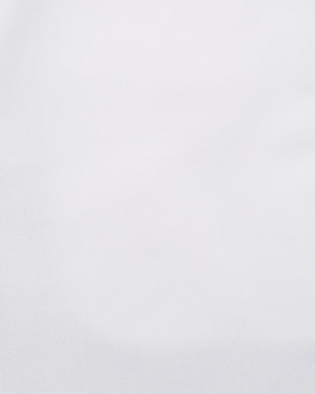 Men's Modern-Fit Cotton-Stretch Dress Shirt, White