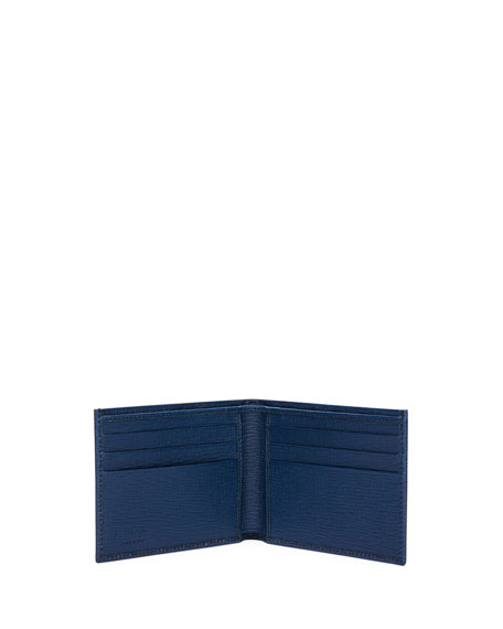 Men's Revival Gancini Leather Bi-Fold Wallet