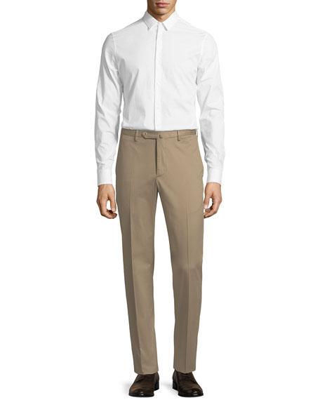 Micky Slim-Fit Stretch-Gabardine Pants