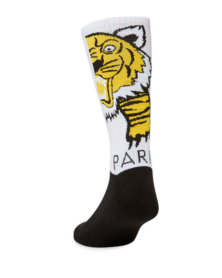 Men's Giant Tiger Tube Socks