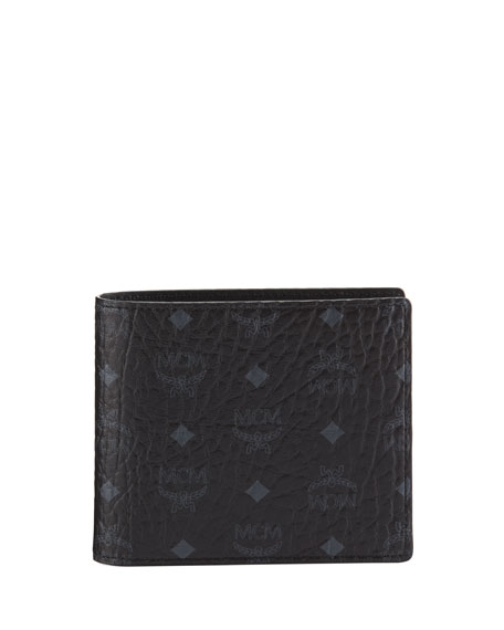Image 1 of 1: Men's Visetos Original Flap Bi-Fold Wallet