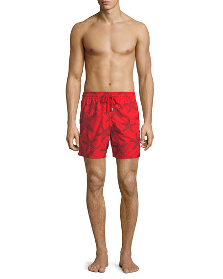 Men's Mistral Starlettes Broderie Swim Trunks