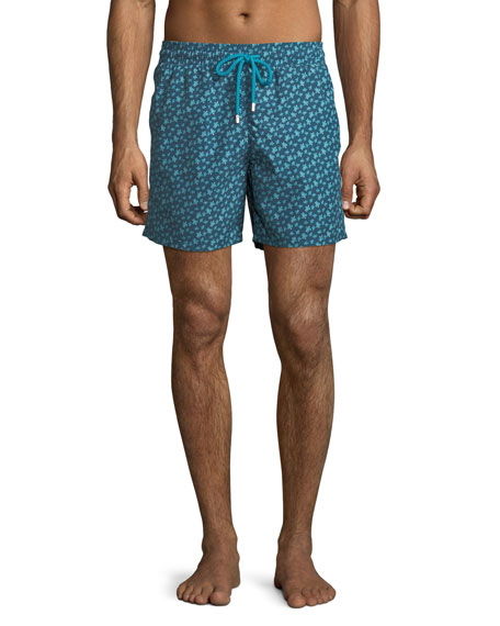 Men's Moorea Micro Ronde des Tortues Turtles Swim Trunks