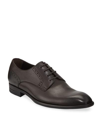 Men's New Flex Derby Shoes  Brown