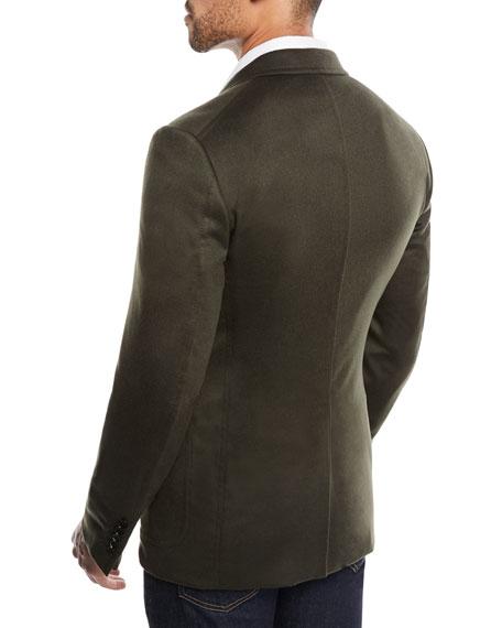 Men's Shelton Brushed Cashmere Cardigan Jacket