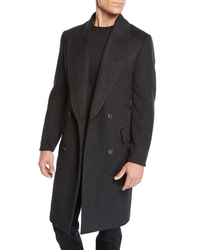 Men's Mickey Cashmere Overcoat