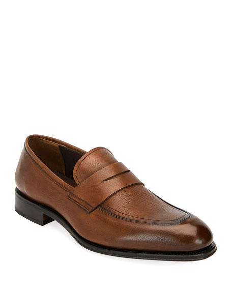 Men's Akon 2 Leather Penny Loafers