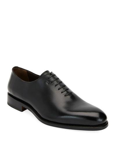 Men's Amsterdam Calfskin Lace-Up Shoes