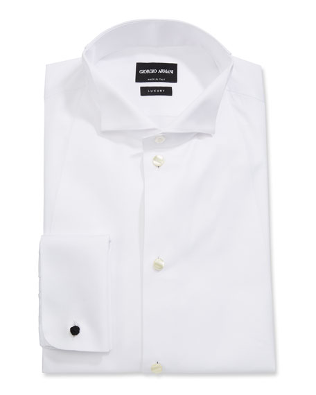 Men's Front Bib Formal Tuxedo Shirt