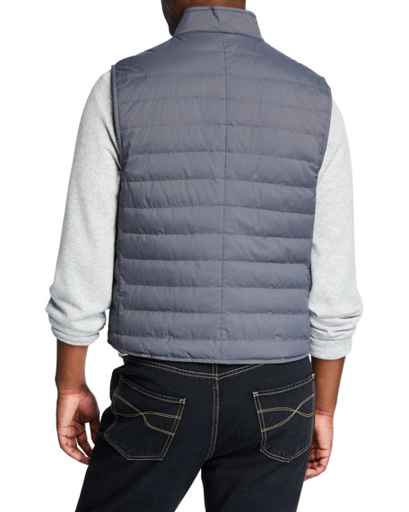Men's Padded Quilted Vest