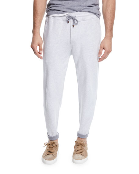 Image 1 of 1: Men's Open Bottom Sweatpants