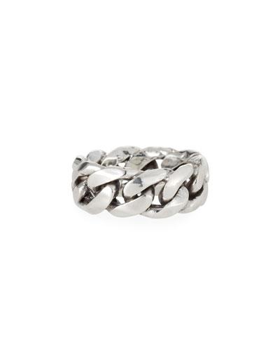 Men's Rigid Curb Chain Ring