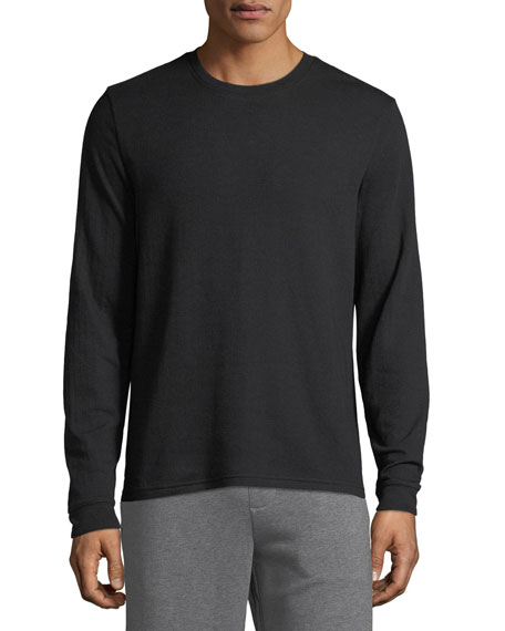 Image 1 of 1: Men's Double Knit Crew Shirt
