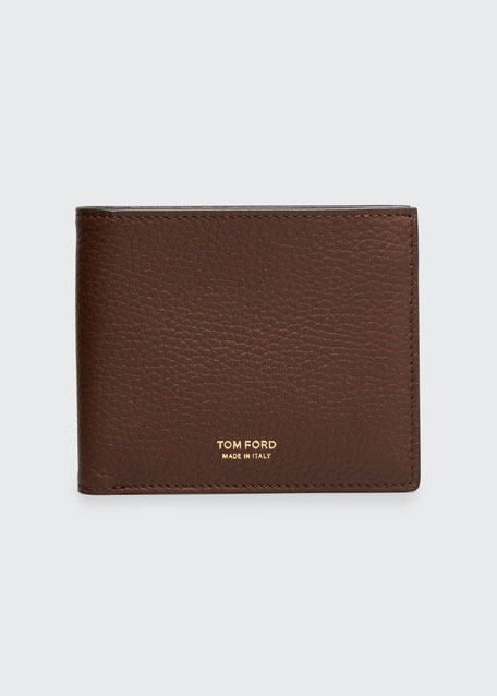 Men's Leather Bi-Fold Wallet