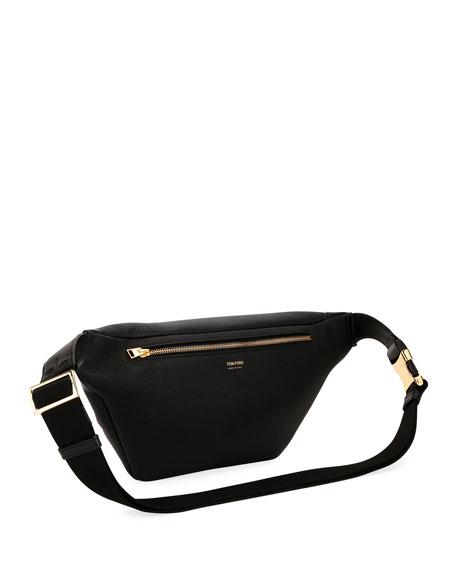 Men's Leather Belt Bag