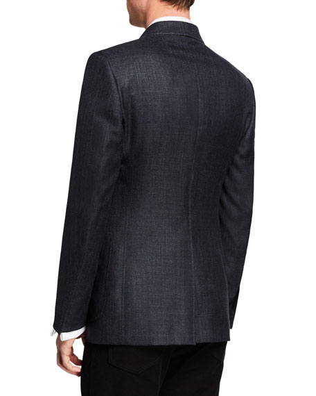 Men's O'Connor Textured Wool/Linen Jacket