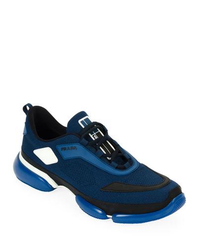 Men's Cloudbust Knit Sport Sneakers