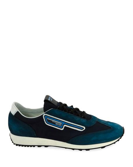 Men's   Suede Sport Sneakers