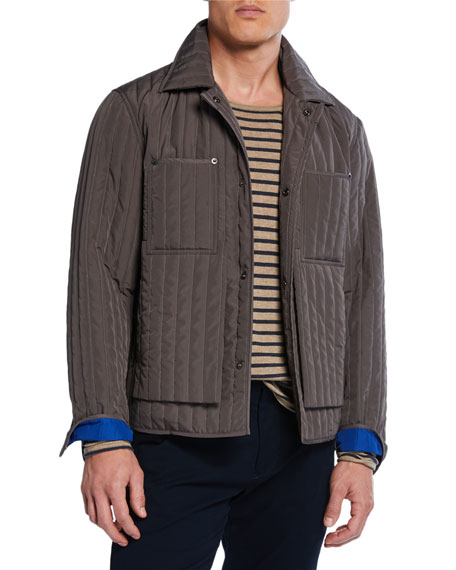 Image 1 of 1: Men's Quilted Worker Jacket