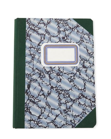 Sewn-Bound Hardback Composition Ledger Notebook