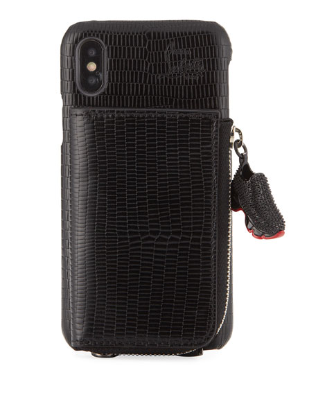 Men's iPhone X-XS Crossbody Phone Case with Signature Wallet