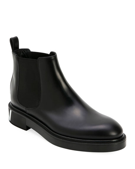 Image 1 of 1: Men's Leather Chelsea Boots