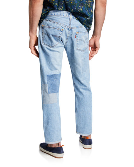 Men's The Detroit Patchwork Denim Jeans