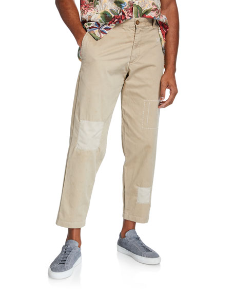 The Pan-Am Patchwork Chino Pants