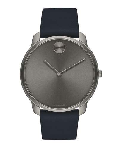Men's Bold Thin Two-Hand Watch
