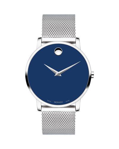 Men's Museum Classic Mesh Bracelet Watch