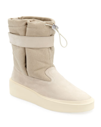 Men's Ski Lounge Suede and Canvas Sneakers