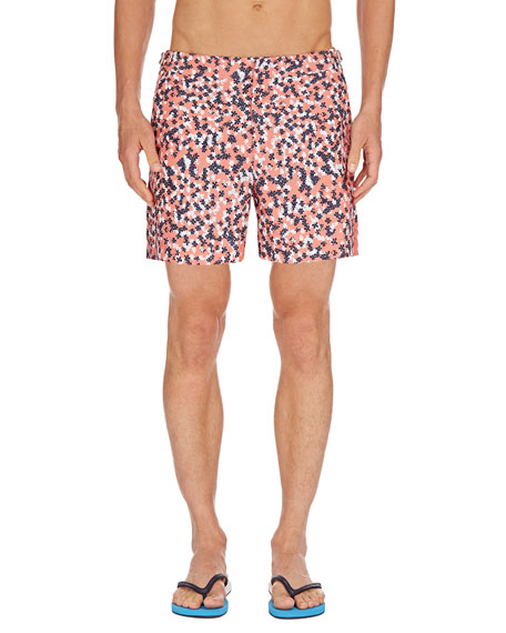 Men's Bulldog Ninfea Graphic Swim Trunks