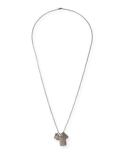Men's Multi-Tag Charm Necklace