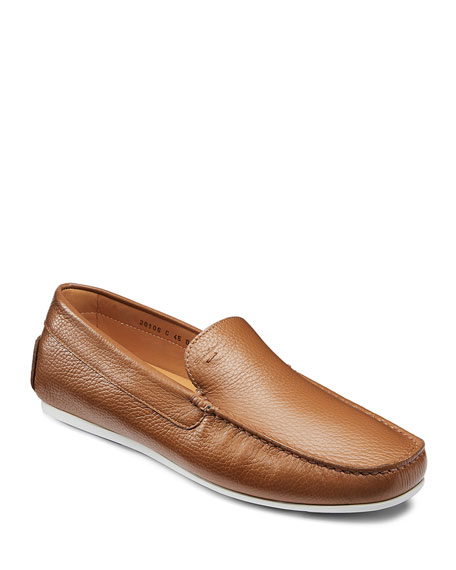 Image 1 of 1: Men's Wellington Drivers, Light Brown