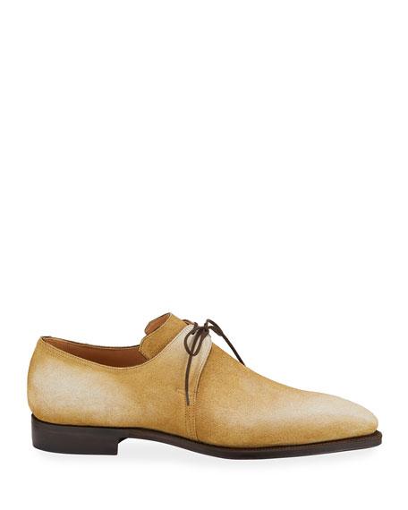 Men's Arca Pullman Suede Lace-Up Shoes