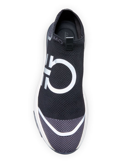 Men's Tonino Gancini Knit Sneakers