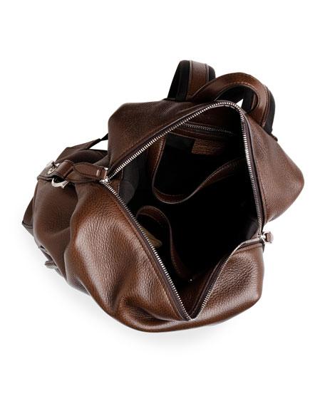 Men's Medium Leather Backpack