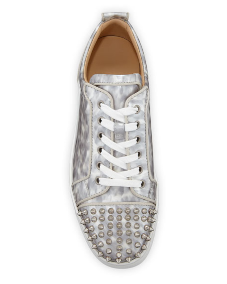 Men's Louis Junior Orlato Leather Sneakers with Spikes