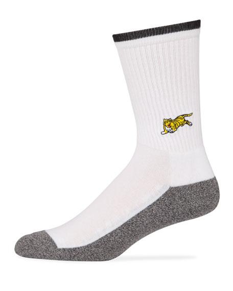 Men's Jumping Tiger Socks