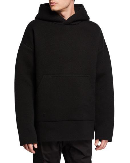 Men's Solid Oversized Hoodie Sweatshirt