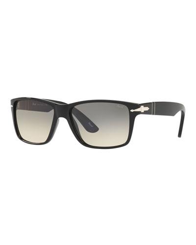 Men's Rectangle Gradient Sunglasses