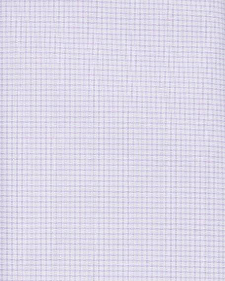 Men's Micro-Check Dress Shirt