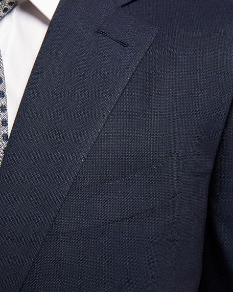 Men's O'Connor Pinpoint Melange Two-Piece Suit