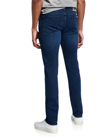Men's Basic Denim Straight-Leg Jeans