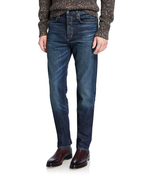 Image 1 of 1: Men's Standard Issue Fit 3 Loose-Fit Straight-Leg Jeans, Vallejo